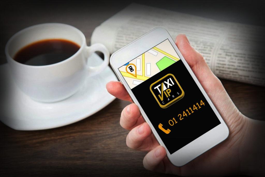 Tomando un cafe con taxi vip cars LLAMA CENTRAL